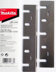 Nůž do hoblíku 170mm MAKITA D-63666 (793186-4)