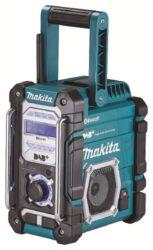 MAKITA DMR112 Aku rádio FM/DAB/DAB+ Bluetooth 7,2-18V/230V IP64-Aku rádio FM/DAB/DAB+ Bluetooth 7,2-18V/230V IP64