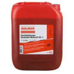 DOLMAR 980008118 Olej motorový 5L 1:50-Vysoce výkonný dvoutaktní motorový olej 50:1