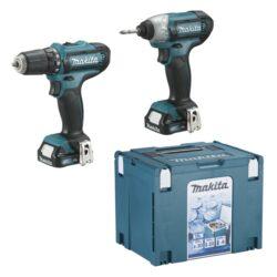 MAKITA CLX201SAX6 Set nářadí 10,8V Li-ion /DF331DZ+TD110DZ+2xaku+taška+box/-Set nářadí 10,8V Li-ion /DF331DZ+TD110DZ+2xaku+taška+box/