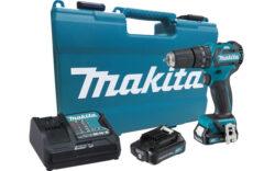 MAKITA HP332DSAE Akušroubovák příklepový 10,8V 2,0Ah bezuhlíkový-Akušroubovák příklepový 10,8V 2,0Ah bezuhlíkový