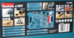MAKITA B-54520 Sada bitů a vrtáků 100dílná(7910509)