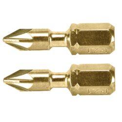 MAKITA B-28450 Bit PZ2 25mm TORSION (2ks bal.)-Bit PZ2 25mm TORSION (2ks bal.)