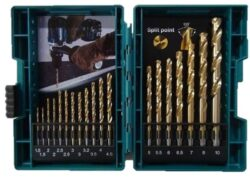 Sada vrtáků TIN 1,5-10mm 19dílná MAKITA D-67527