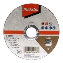 MAKITA D-65969-12 Kotouč řezný INOX 125x1,2mm v boxu (12ks bal.)-Kotouč řezný INOX 125x1,2mm v boxu (12ks bal.)