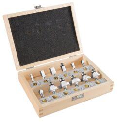MAKITA D-57065 Sada fréz na dřevo stopka 6mm 12ks-Sada fréz na dřevo stopka 6mm 12ks