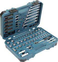 MAKITA E-06616 Sada nářadí v kufru 120dílná-Sada nářadí v kufru 120dílná